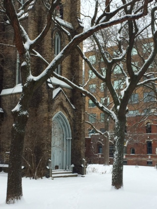 Toronto Church Snow