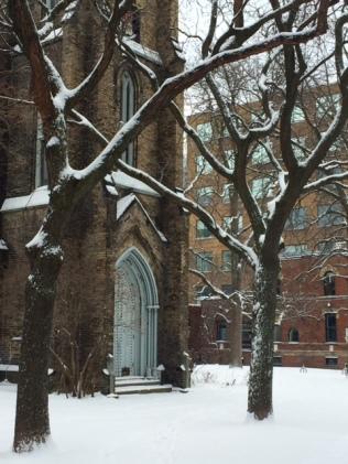 Toronto Church Snow