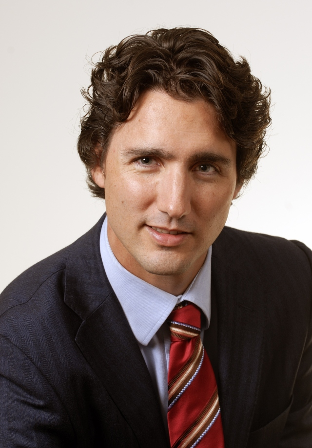 justin trudeau hot stuff