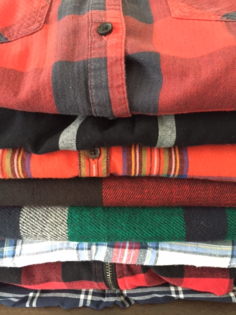 plaid wardrobe