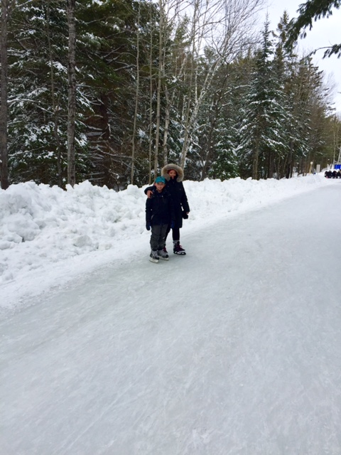 Arrowhead Provincial Park Ice Skating Trail