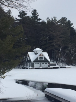 boat house lake rosseau