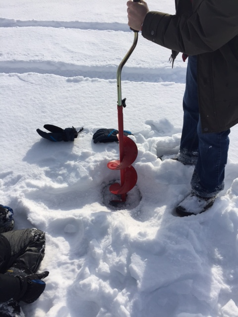 ice fishing drill