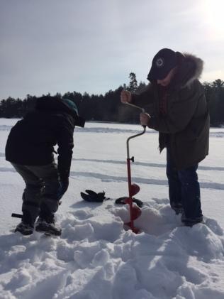 ice fishing drilling 1