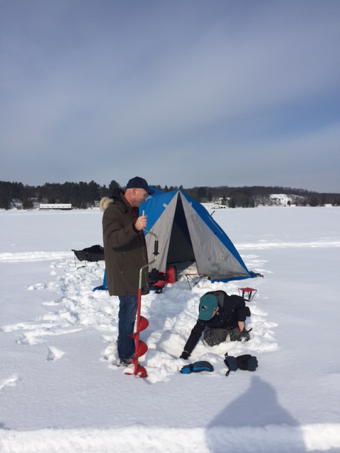 ice fishing drilling 2