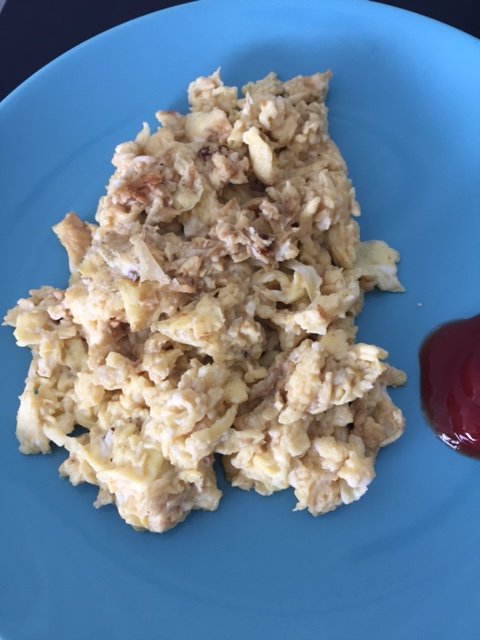 vegemite scrambled eggs